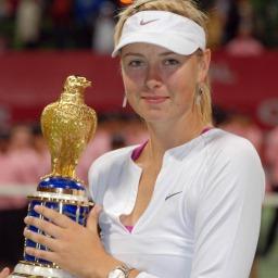 รูปภาพ นักเทนนิสดาว Maria Sharapova
